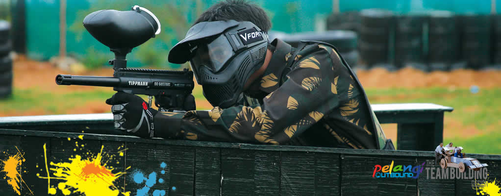 Paket Paintball Game
