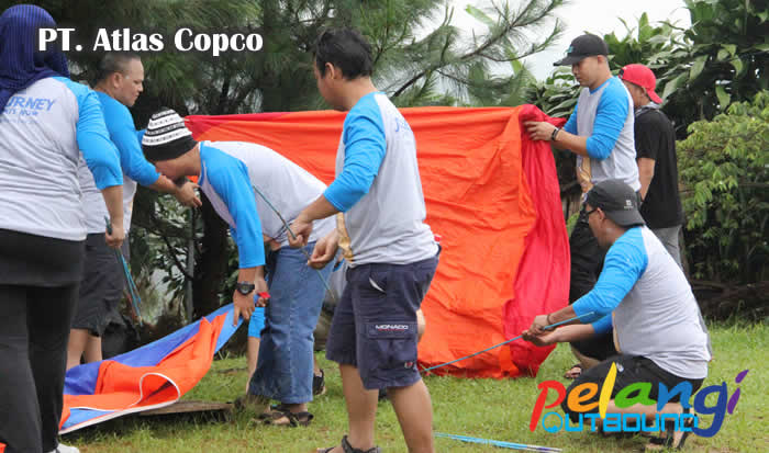 Outbound Training PT Atlas Copco 7