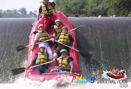 Rafting Sungai Citatih Sukabumi