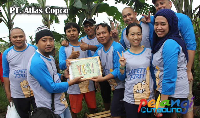 Outbound Training PT Atlas Copco 9
